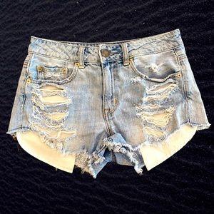 AEO 2 Hi-Rise Festival Jean Shorts
